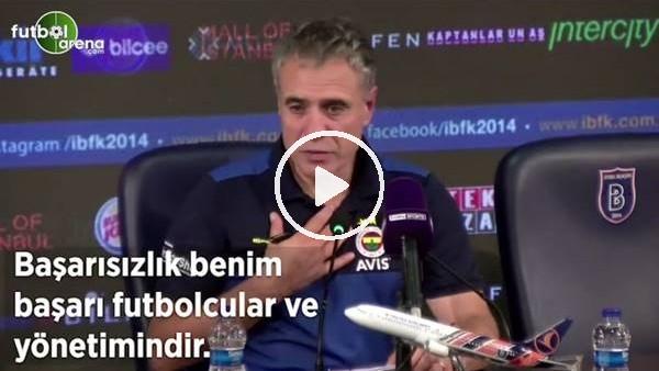 """'Ersun Yanal: """"Başarısızlık benim başarı futbolcular ve yönetimindir"""""""