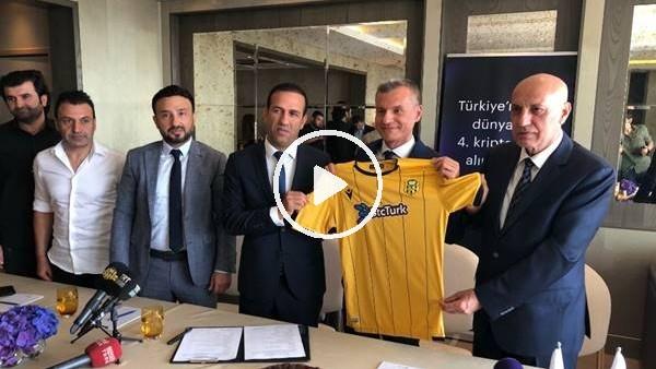 'Yeni Malatyaspor ile BtcTurk arasında sponsorluk anlaşması
