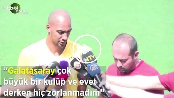 """'Nzonzi: """"Galatasaray çok büyük bir kulüp evet derke hiç zorlanmadım"""""""
