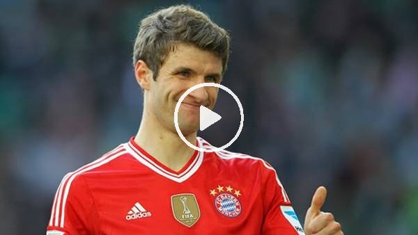Thomas Müller'in kariyerinde attığı en kolay gol