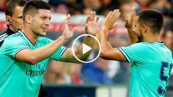 Eden Hazard, Real Madrid formasıyla ilk golünü attı