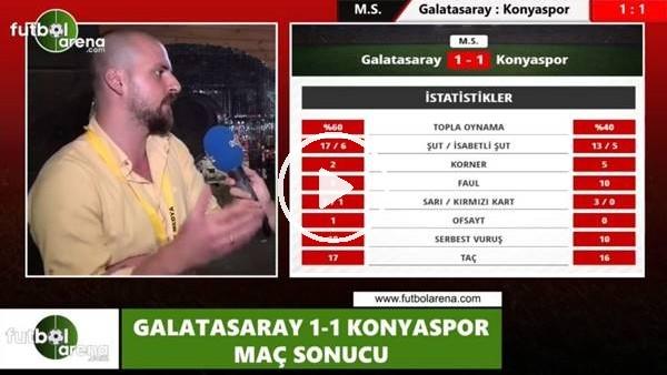 """'Burhan Can Terzi: """"Galatasaray'ın sıkıntısı merkezden oyun kuramamasıydı"""""""