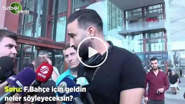 """'Adil  Rami: """"Kadıköy'deki atmosferi görmek için sabırsızım"""""""