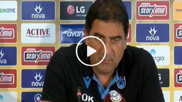 'Ünal Karaman, AEK maçı öncesinde basın toplantısı düzenledi