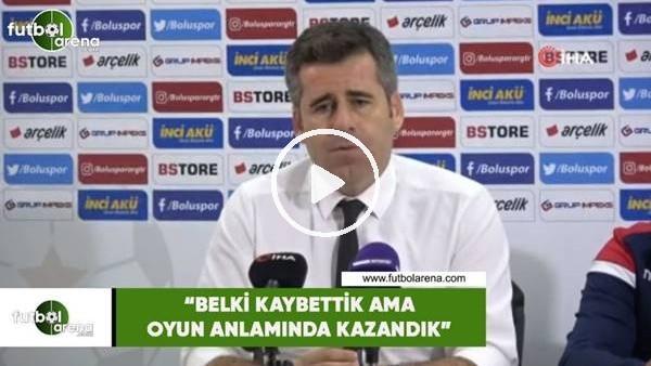 """'Hüseyin Eroğlu:  """"Belki kaybettik ama oyun anlamında kazandık"""""""