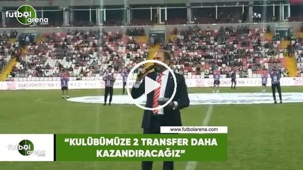 """Mecnun Otyakmaz: """"Kulübümüze 2 transfer daha kazandıracağız"""""""