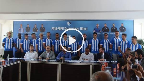 'Erzurumspor, 15 futbolcu ile sözleşme imzaladı