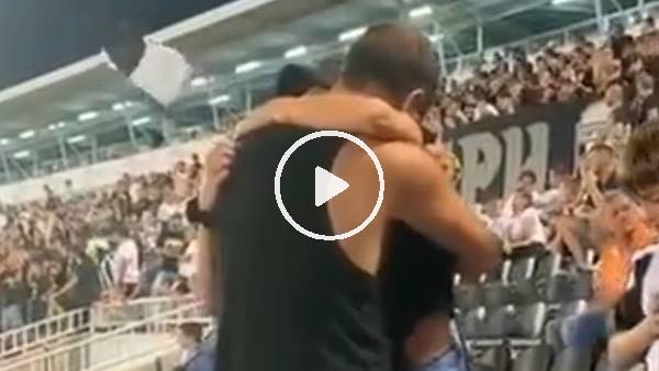 'Partizan - Yeni Malatyaspor maçında evlilik teklifi