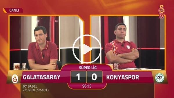 Jonsson'un golünde GS TV spikerleri