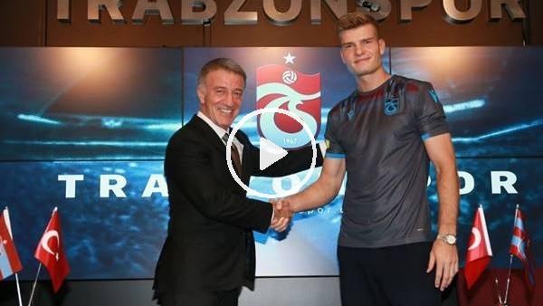 Alexander Sörloth 2+2 yıllığına Trabzonspor'da