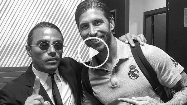 Nusret'ten Real Madrid'li futbolculara destek