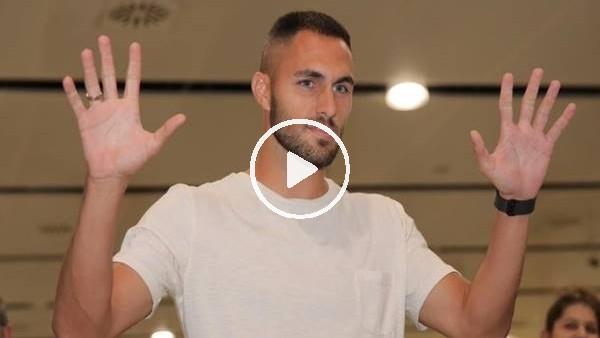 Beşiktaş'ın yeni transferi Victor Ruiz İstanbul'a geldi