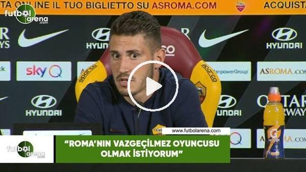 """'Mert Çetin: """"Roma'nın vazgeçilmez oyuncusu olmak istiyorum"""""""