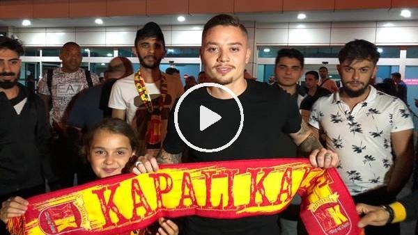 'Tavares, Kayseri'ye geldi