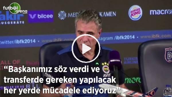 """'Ersun Yanal: """"Başkanımız söz verdi ve transferde gereken yapılacak her yerde mücadele ediyoruz"""""""