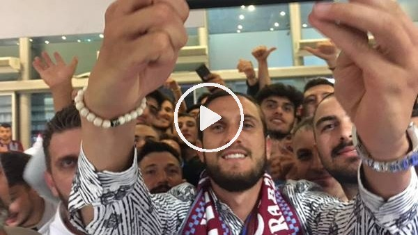 'Yusuf Yazıcı, Trabzon'dan Fransa'ya böyle uğurlandı