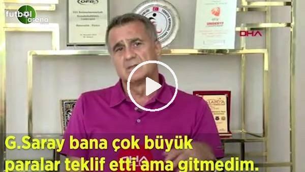 """'Şenol Güneş: """"Galatasaray bana çok büyük paralar teklif etti ama gitmedim"""""""