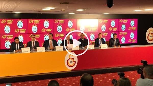 'Galatasaray ile Terra Pizza sponsorluk anlaşması imzaladı
