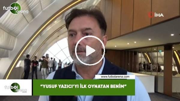 """'Hami Mandıralı: """"Yusuf Yazıcı'yı ilk oynatan benim"""""""