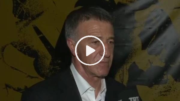 """'Ahmet Ağaoğlu: """"Turu getirecek bir skor"""""""