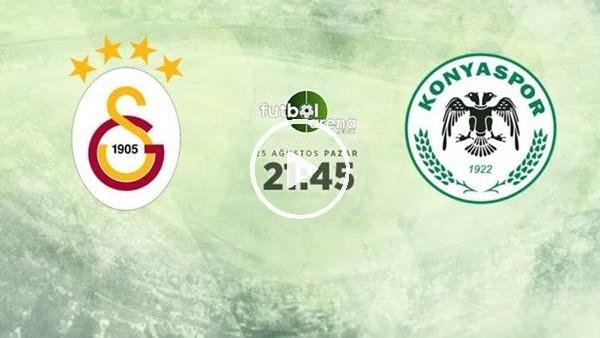 MAÇ GÜNÜ | Galatasaray - Konyaspor (25.08.2019)