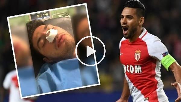 Galatasaray taraftarı narkozun etkisiyle Falcao'yu sayıkladı