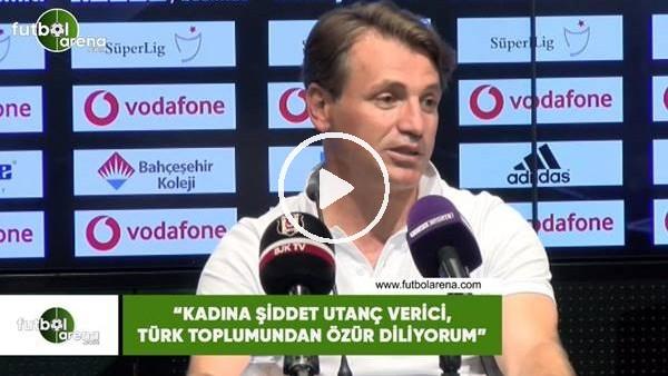 """'Tamer Tuna: """"Kadına şiddet utanç verici, Türk toplumundan özür diliyorum"""""""