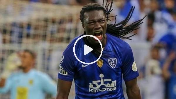Bafetimbi Gomis, 2 golle takımına galibiyeti getirdi