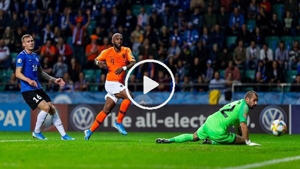 Babel'in Estonya'ya attığı gol