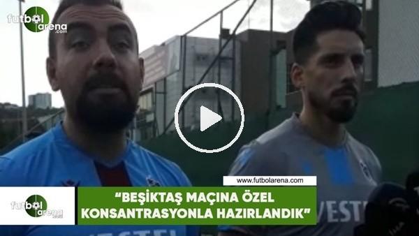 """Sosa: """"Beşiktaş maçına özel konsantrasyonla hazırlandık"""""""