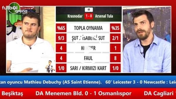 "Sinan Yılmaz: ""Trabzonspor, Sosa'nın ustalığıyla 2-0 öne geçti"""