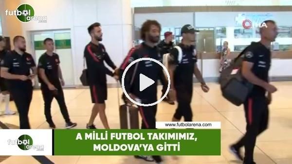 A Milli Futbol Takımımz, Moldova'ya gitti