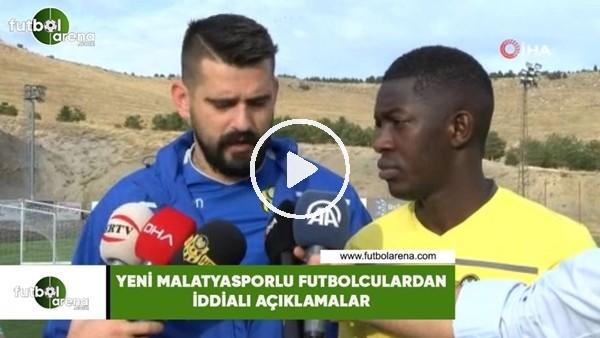 'Yeni Malatyasporlu futbolculardan iddialı açıklamalar