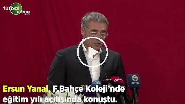"""Ersun Yanal: """"Mustafa Kemal ilkelerini, anayasasına koyan Fenerbahçe'nin bir üyesiyim"""""""