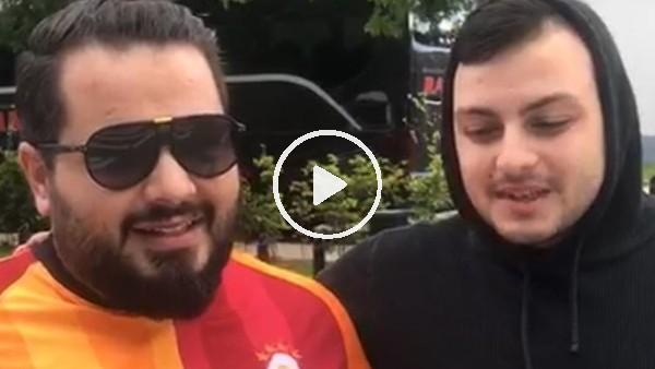 """'Galatasaray taraftarından Diagne yorumu: """"İnşalalh penaltı yaptırır"""""""