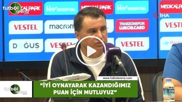 """'Mustafa Kaplan: """"İyi oynayarak kazandığımız puan için mutluyuz"""""""