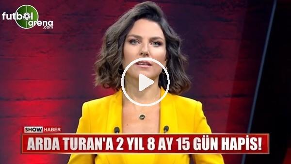 'Show TV spikerinden Arda Turan tepkisi