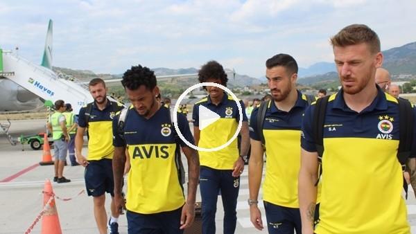 'Fenerbahçe kafilesi Alanya'ya geldi