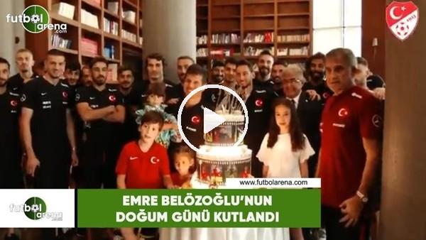 Emre Belözoğlu'nun doğum günü kutlandı