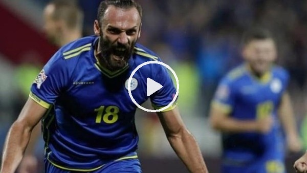 Vedat Muriqi'in Çekya'ya attığı gol