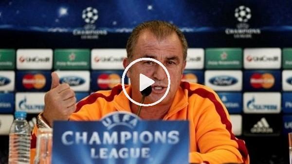 'Fatih Terim, Club Brugge maçı öncesi basın toplantısı düzenledi