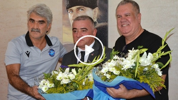 Adana derbisi öncesi dostluk rüzgarları esti
