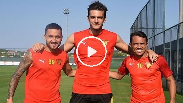 'Göztepeli futbolculardan başarı sözü