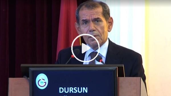 Dursun Özbek, Divan Kurulu'nda Fatih Terim için alkış istedi