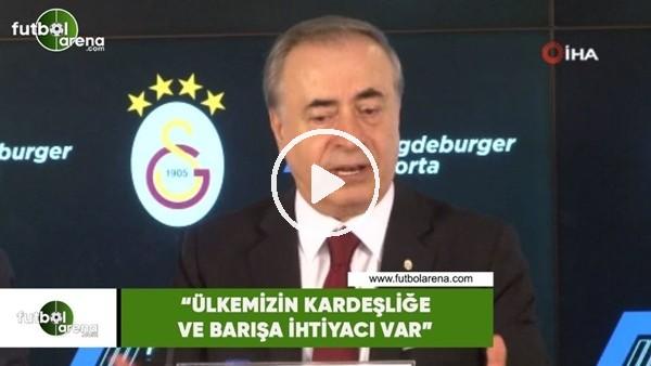 """'Mustafa Cengiz: """"Ülkemizin barışa ver kardeşliğe ihtiyacı var"""""""
