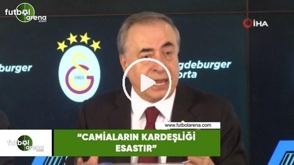 """'Mustafa Cengiz: """"Camiaların kardeşliği esastır"""""""