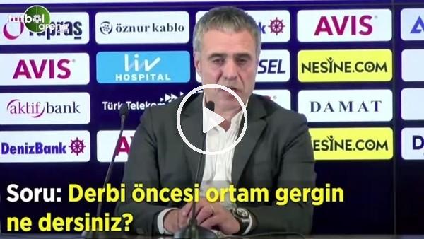 'Ersun Yanal'dan Galatasaray derbisi öncesi ilk sözler