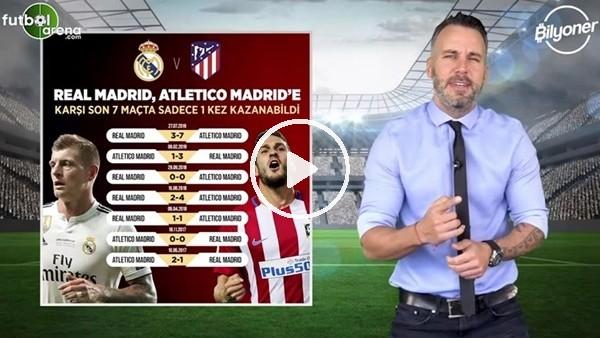 Atletico Madrid - Real Madrid maçının heyecanı Bilyoner'de