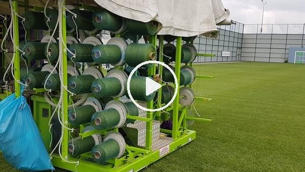 'Çaykur Rizespor, antrenman sahasını hibrit çim yaptI