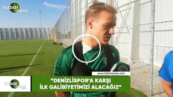 """'Deni Milosevic: """"Denizispor'a karşı ilk galibiyetimizi alacağız"""""""